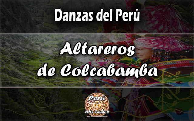 danza altareros colcabamba