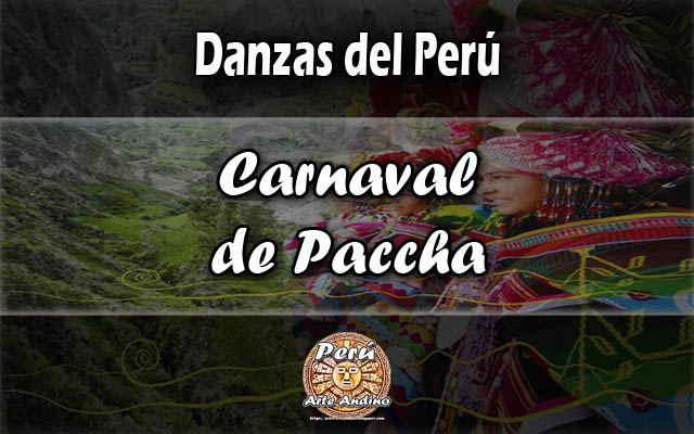 danza carnaval paccha reseña historica