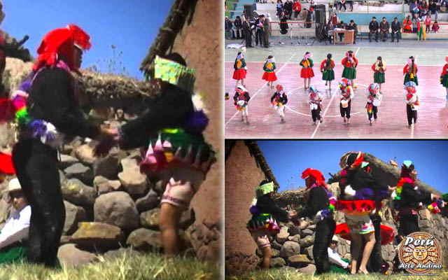 danza qaswa solteros vestimenta