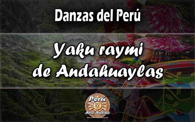 danza yaku raymi andahuaylas