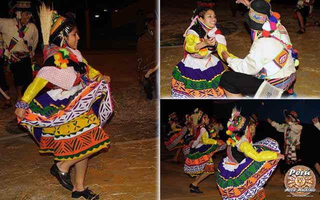 vestimenta de la danza trilla de culluchaca