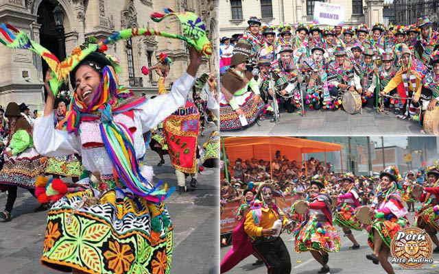 carnaval de chaca vestimenta