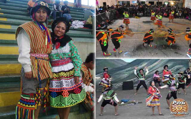 vestimenta de la danza yaku huñuy