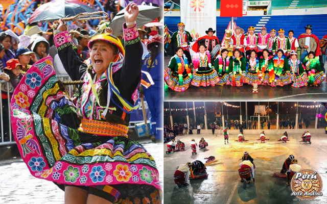 vestuario de la danza quinua wayrachi