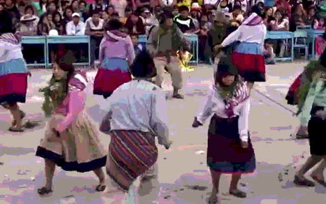 danza santiago de churcampa huancavelica