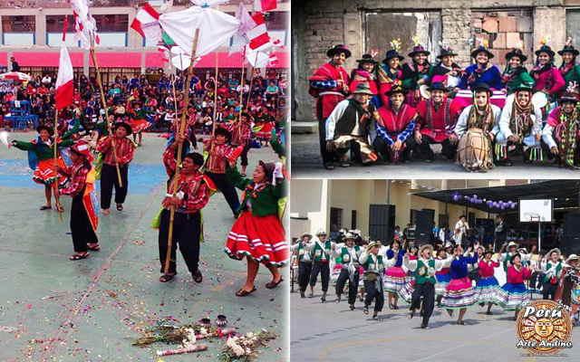 vestimenta de la danza vitor de colcabamba