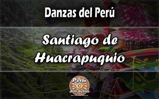 santiago de huacrapuquio reseña historica