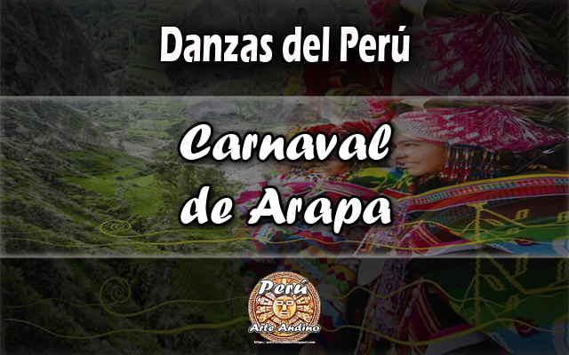 danza carnaval de arapa tradicional de puno