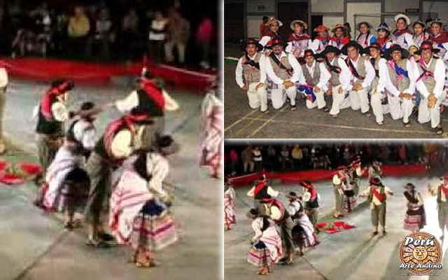 vestimenta de la danza pisado de habas de arequipa