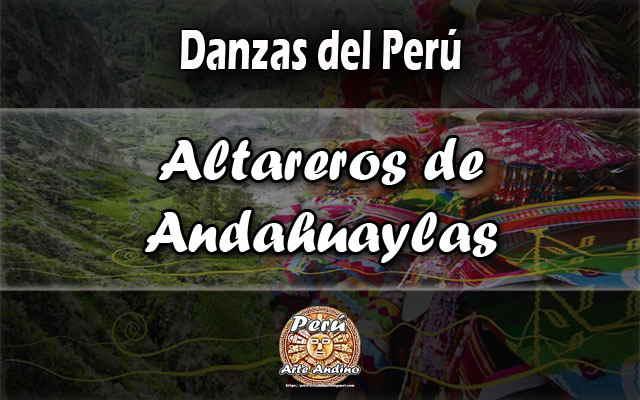 danza altareros de andahuaylas