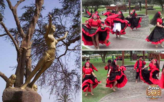 vestimenta de la danza las brujas de cachiche