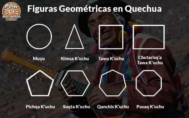 formas y figuras geometricas en quechua