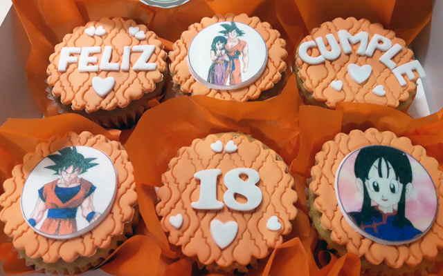 cupcakes dragon ball