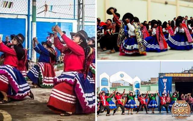 vestimenta de la danza Santa Cruz de Layme Apurimac