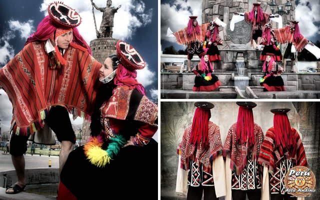 danza de las wallatas durante los carnavales